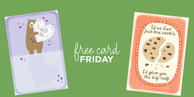 Free just because greeting card at hallmark tomorrow ftm free just because greeting card at hallmark tomorrow m4hsunfo