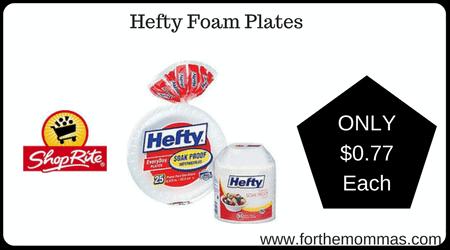 Hefty Foam Plates