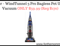 Hoover - WindTunnel 3 Pro Bagless Pet Upright Vacuum