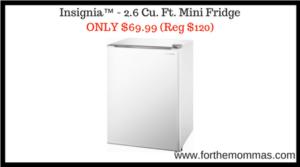 Insignia™ - 2.6 Cu. Ft. Mini Fridge