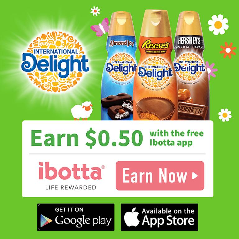 International Delight® Coffee Creamer Ibotta Offer