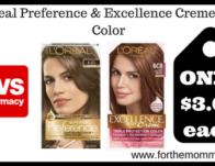 L'Oreal Preference & Excellence Creme Hair Color