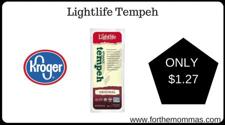Lightlife Tempeh Kroger: Lightlife Temp...