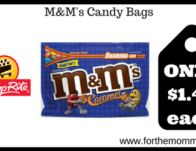M&M's Candy Bags