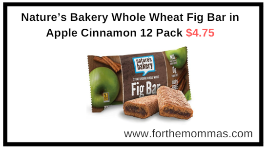 Nature S Bakery Whole Wheat Fig Bar Apple Cinnamon