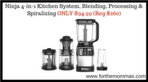 Ninja 4-in-1 Kitchen System