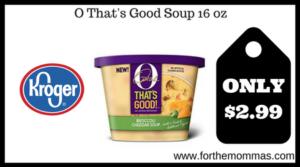 O That's Good Soup 16 oz