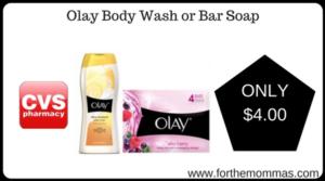 Olay Body Wash or Bar Soap