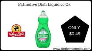 Palmolive Dish Liquid 20 Oz