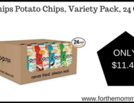Popchips Potato Chips, Variety Pack, 24 Count