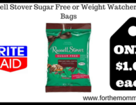 Russell Stover Sugar Free or Weight Watchers Peg Bags
