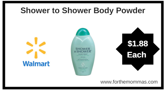 Walmart: Shower to Shower Body Powder $1.88