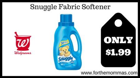 Snuggle Fabric Softener