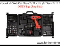 Stalwart 18-Volt Cordless Drill