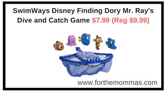 Amazon.com: SwimWays Disney Finding Dory Mr. Ray's Dive and Catch Game $7.99 (Reg $9.99)