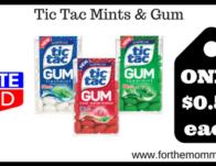 Tic Tac Mints & Gum