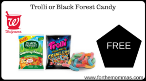 Trolli or Black Forest Candy