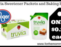 Truvia Sweetener Packets and Baking Blend