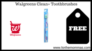Walgreens Clean+ Toothbrushes