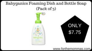 Babyganics Foaming Dish and Bottle Soap (Pack of 3)