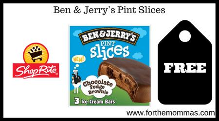 Ben & Jerry's Pint Slices