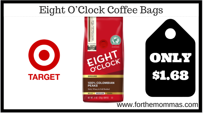 Target eight o clock coffee