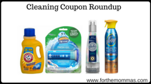 Cleaning Coupon Roundup