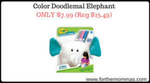 Color Doodlemal Elephant