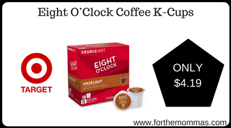 Eight O'Clock Coffee Coupon. There is a new Eight O'Clock Coffee Coupon available to fastdownloadmin9lf.gq coupon is for $ off any TWO (2) Eight O'Clock Coffee Bags OR K-Cup Pods. Print Eight O'Clock Coffee Bags OR K-Cup Pods Coupon. Target sells the Eight O'Clock Ground Coffee Bags for $ and there is a 20%/1 Eight O'Clock Coffee, Target CartWheel, exp. 10/13/ available mkaing.