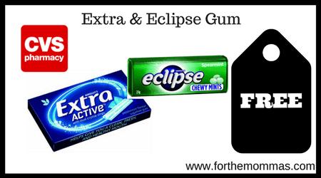 Extra & Eclipse Gum Singles