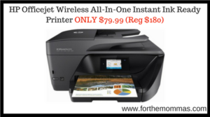 HP Officejet Wireless All-In-One Instant Ink Ready Printer