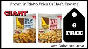 Grown In Idaho Fries Or Hash Browns
