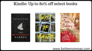 Kindle: Up to 80% off select books