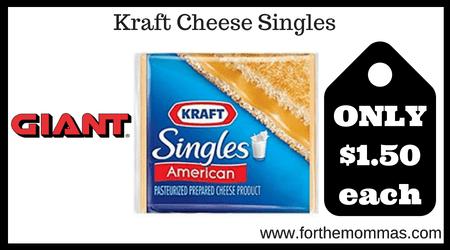 Kraft Cheese Singles