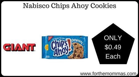 Nabisco Chips Ahoy Cookies
