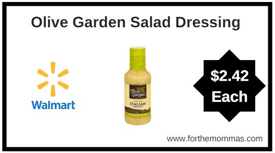 Walmart Olive Garden Salad Dressing Ftm