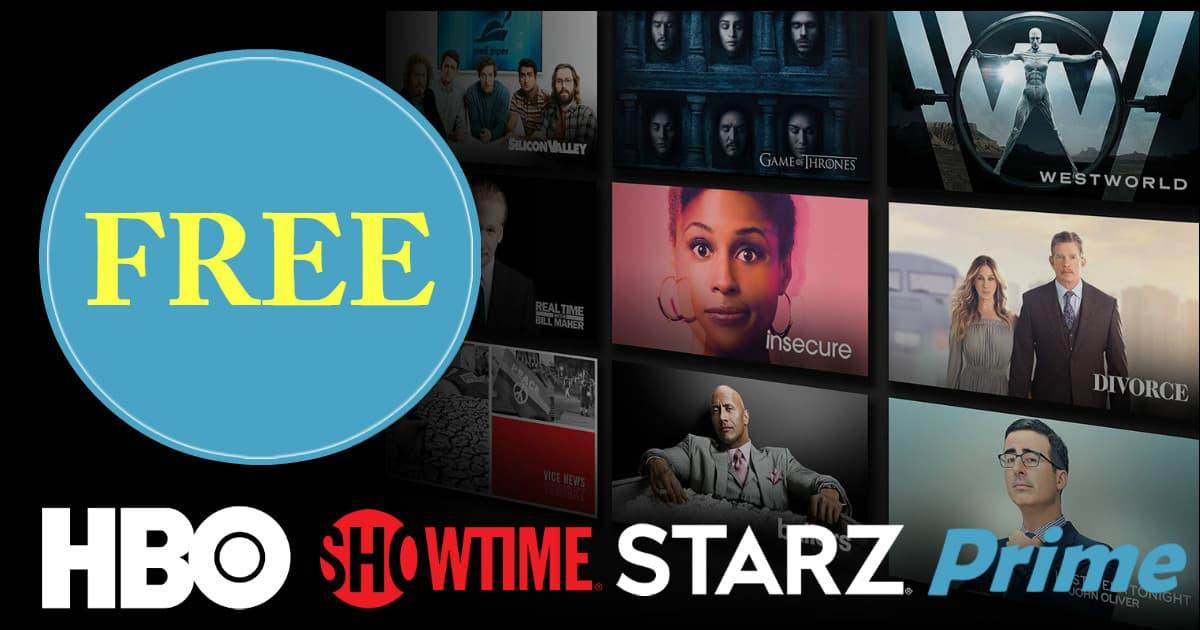 42 Days of Free Premium TV & Movie Trials on Amazon