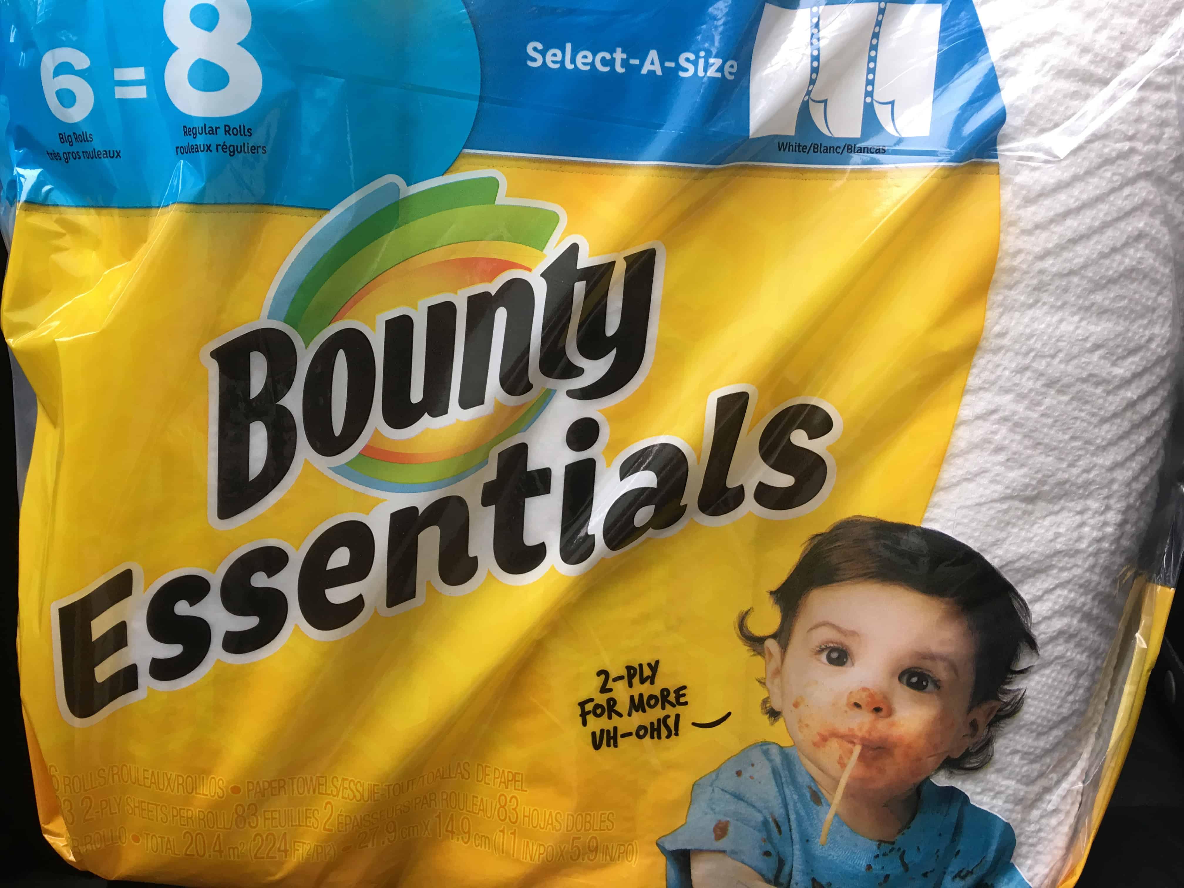 Giant: Bounty Essentials Paper Towels Just $0.33 Per Roll Thru 6/14!