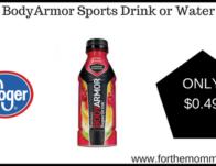 BodyArmor Sports Drink or Water
