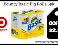 Bounty Basic Big Rolls 6pk