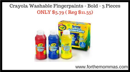 Crayola Washable Fingerpaints