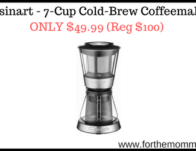 Cuisinart – 7-Cup Cold-Brew Coffeemaker ONLY $49.99 (Reg $100)