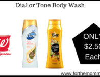 Dial or Tone Body Wash