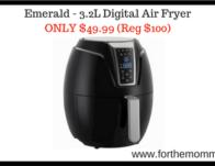 Emerald - 3.2L Digital Air Fryer
