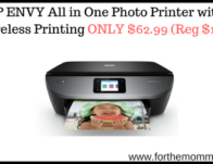 HP ENVY All in One Photo Printer with Wireless Printing