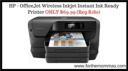 HP - OfficeJet Wireless Inkjet Instant Ink Ready Printer