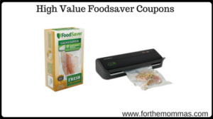 High Value Foodsaver Coupons