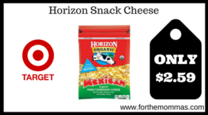 Horizon Snack Cheese