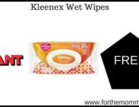Giant: FREE Kleenex Wipes Products Thru 9/19!