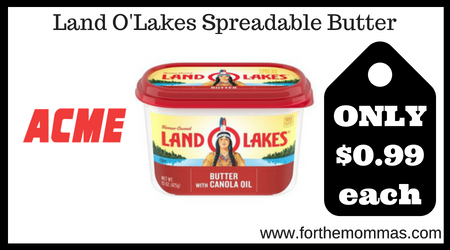 Land O'Lakes Spreadable Butter